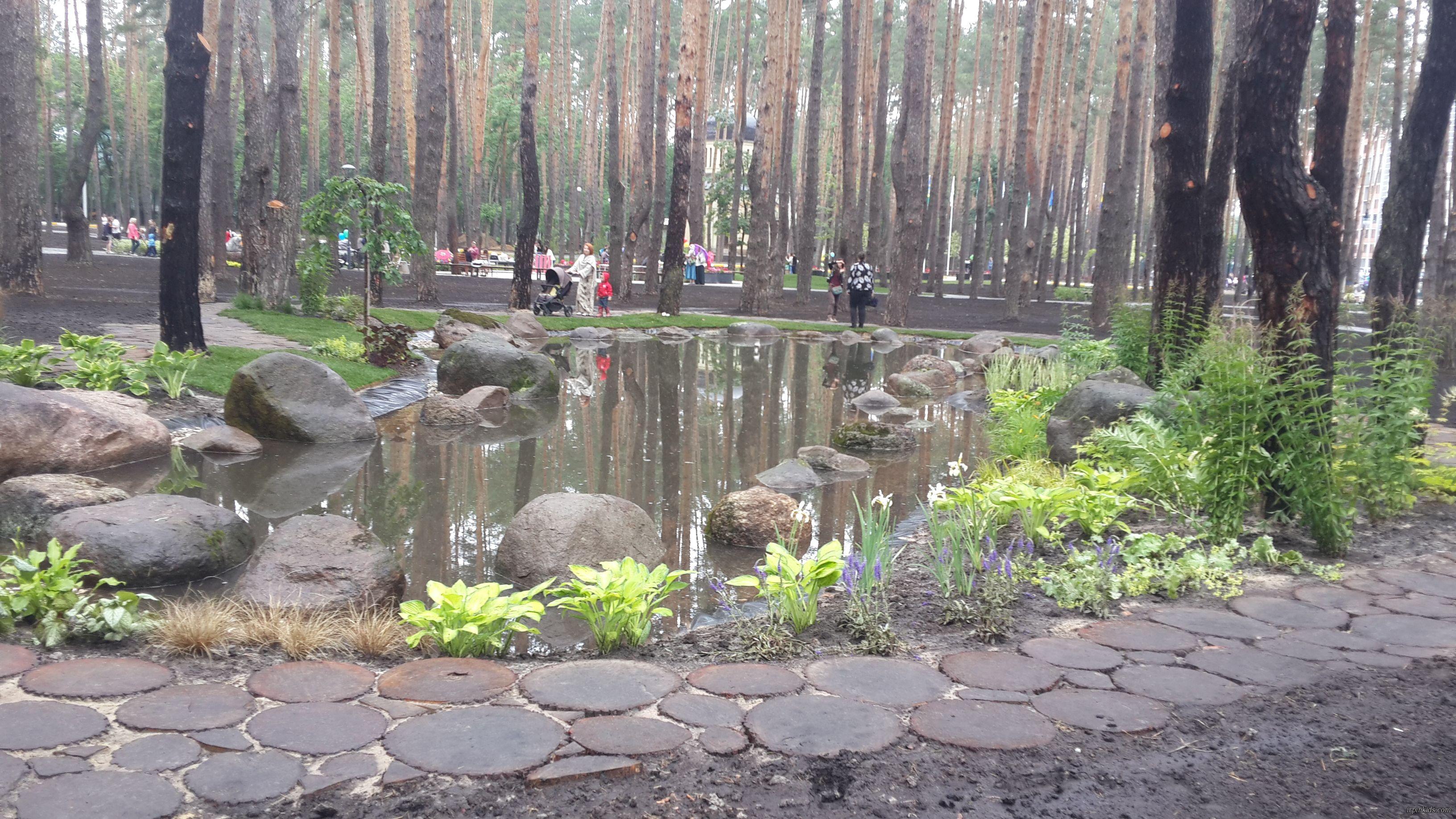 парк центральный ирпень