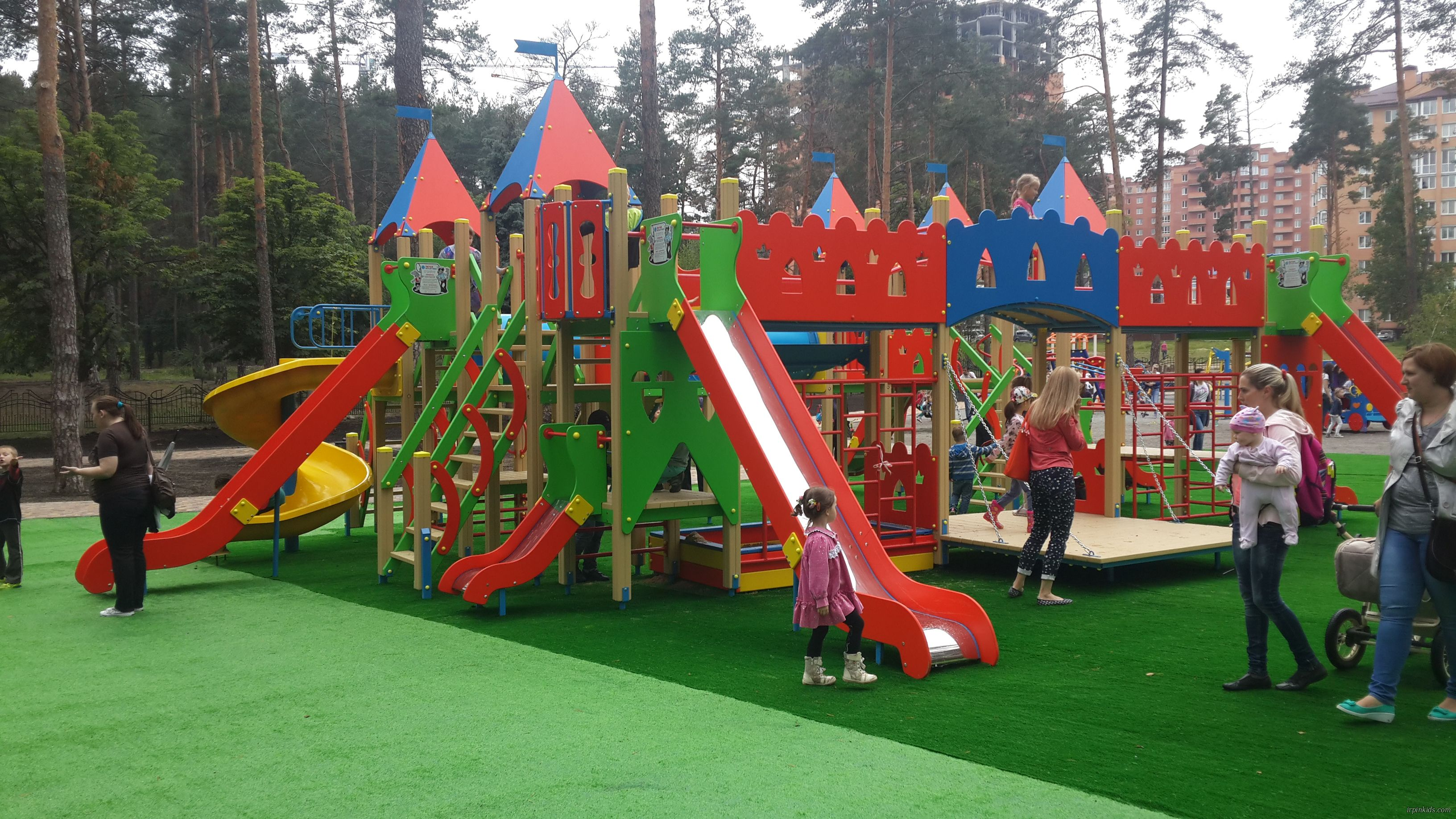 площадка ирпень центральный парк